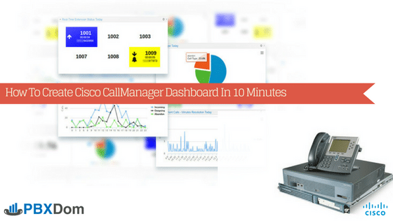 How To Create Cisco Call Manager Dashboard In 10 Minutes | PBXDom